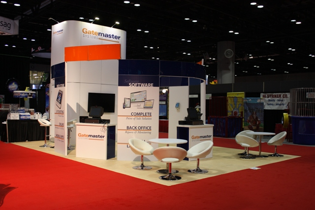 GateMaster at IAAPA 2014