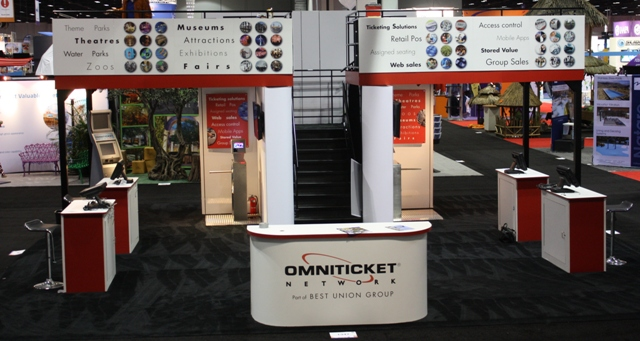 OmniTicket at IAAPA 2014
