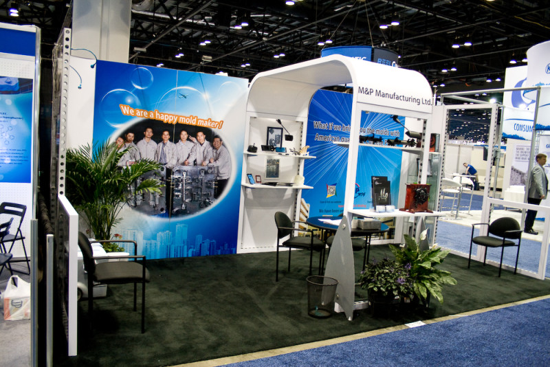 10x20 NPE Custom Booth Rental