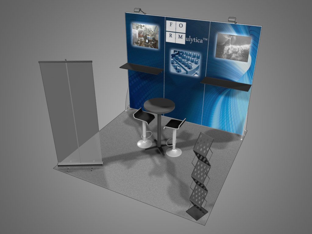 10x10 Trade Show Booth Design Sydney Exhibit