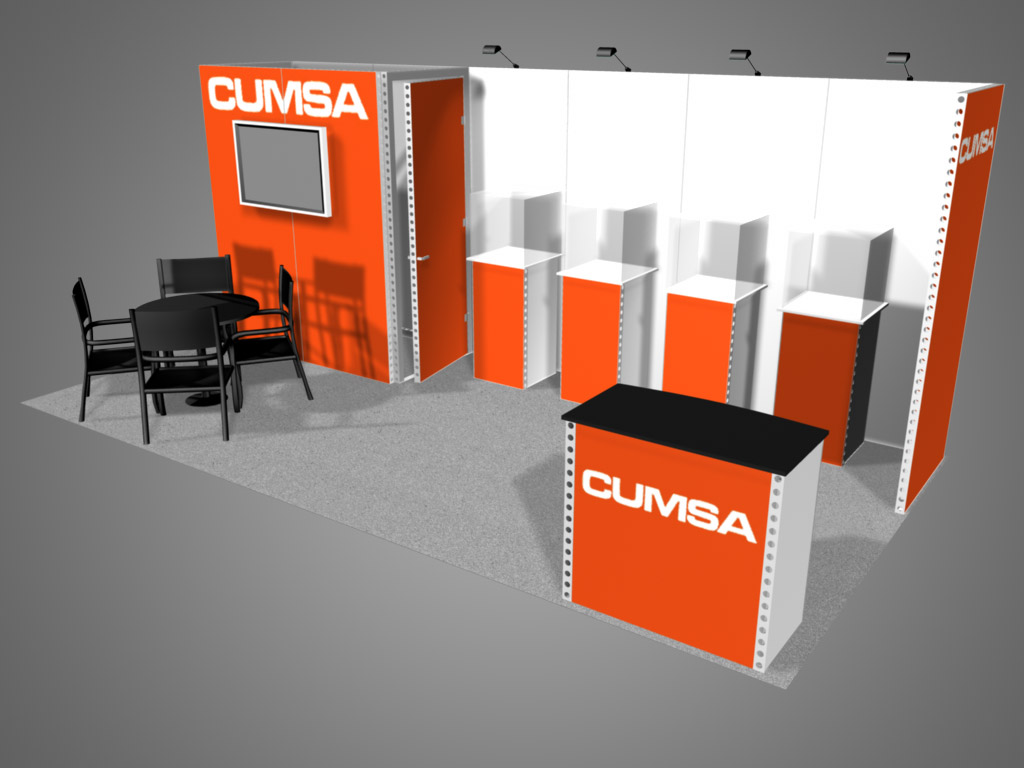 Exhibition Booth Hire Gold Coast : Honolulu exhibit trade show supply