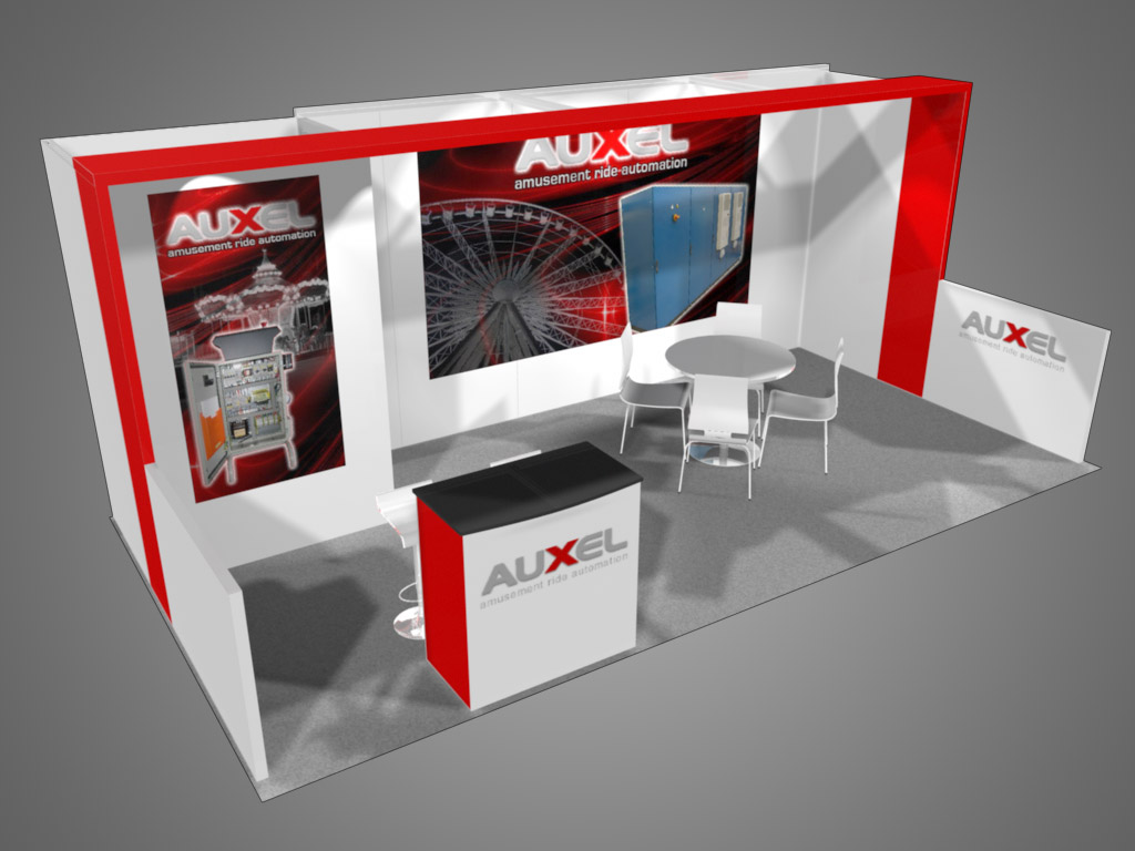 Exhibition Booth Area : Malibu exhibit trade show supply