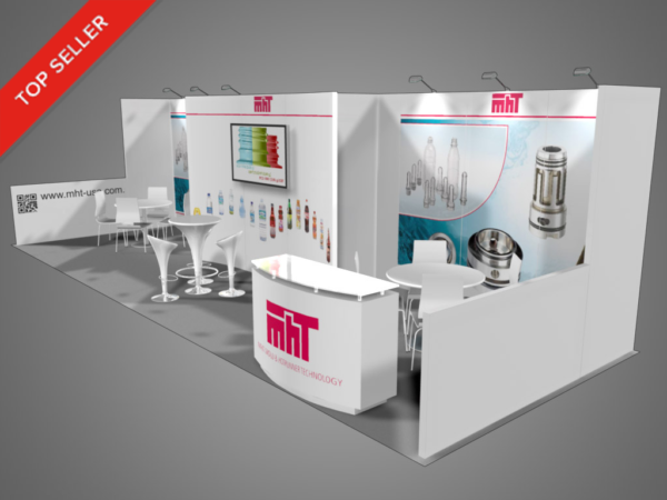 Exhibition Booth Hire Gold Coast : Longer inline exhibits trade show supply