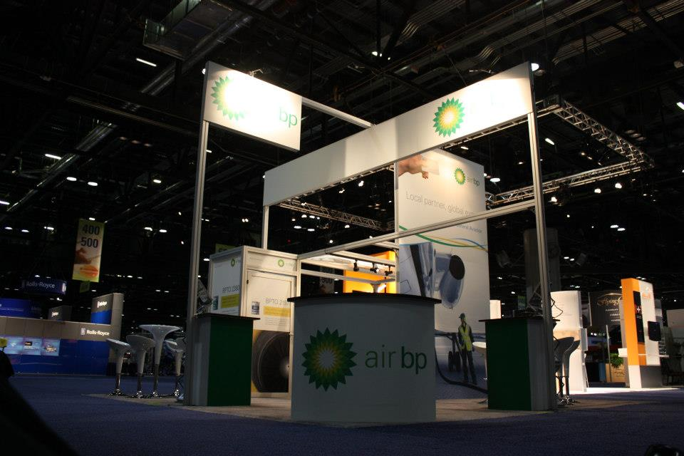 NBAA 2012 island booth for Air-BP
