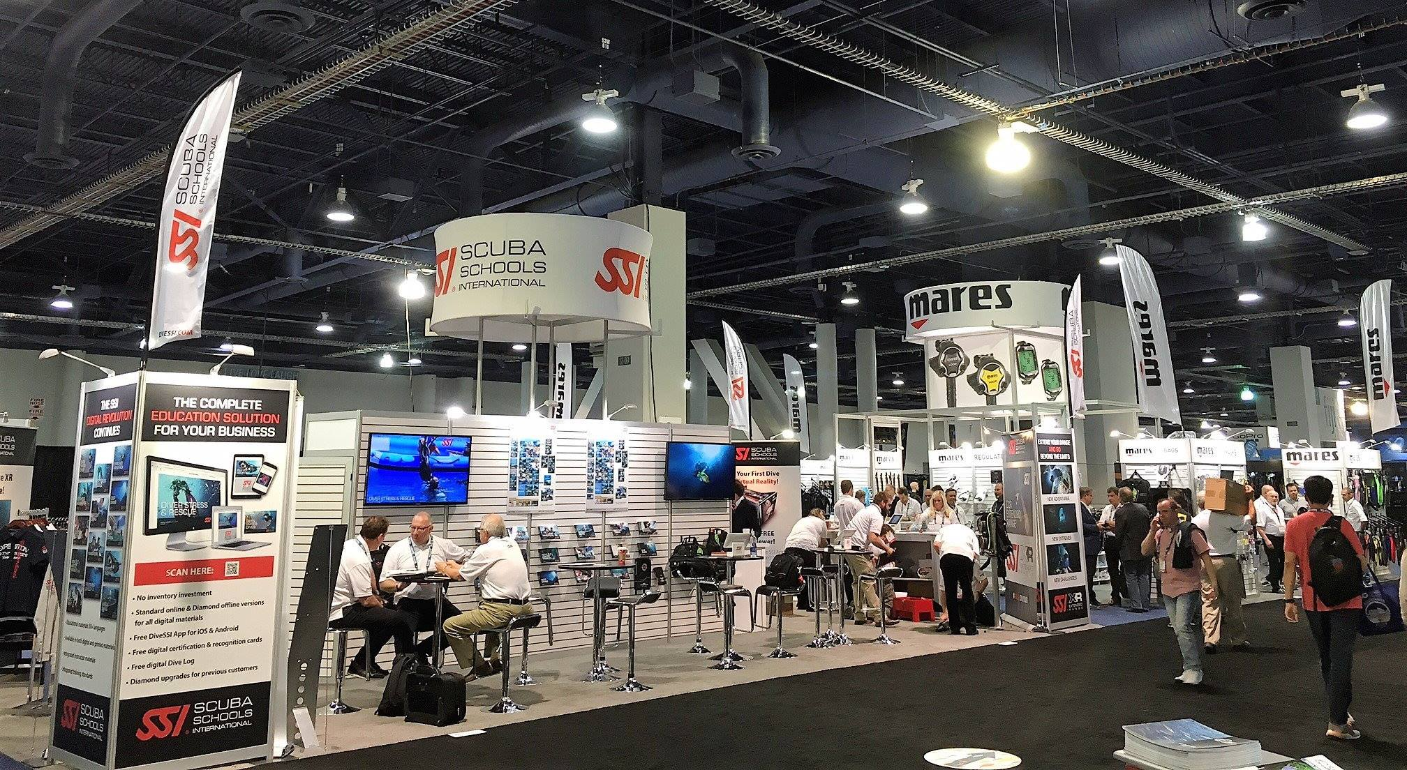 SSI Exhibit Booth