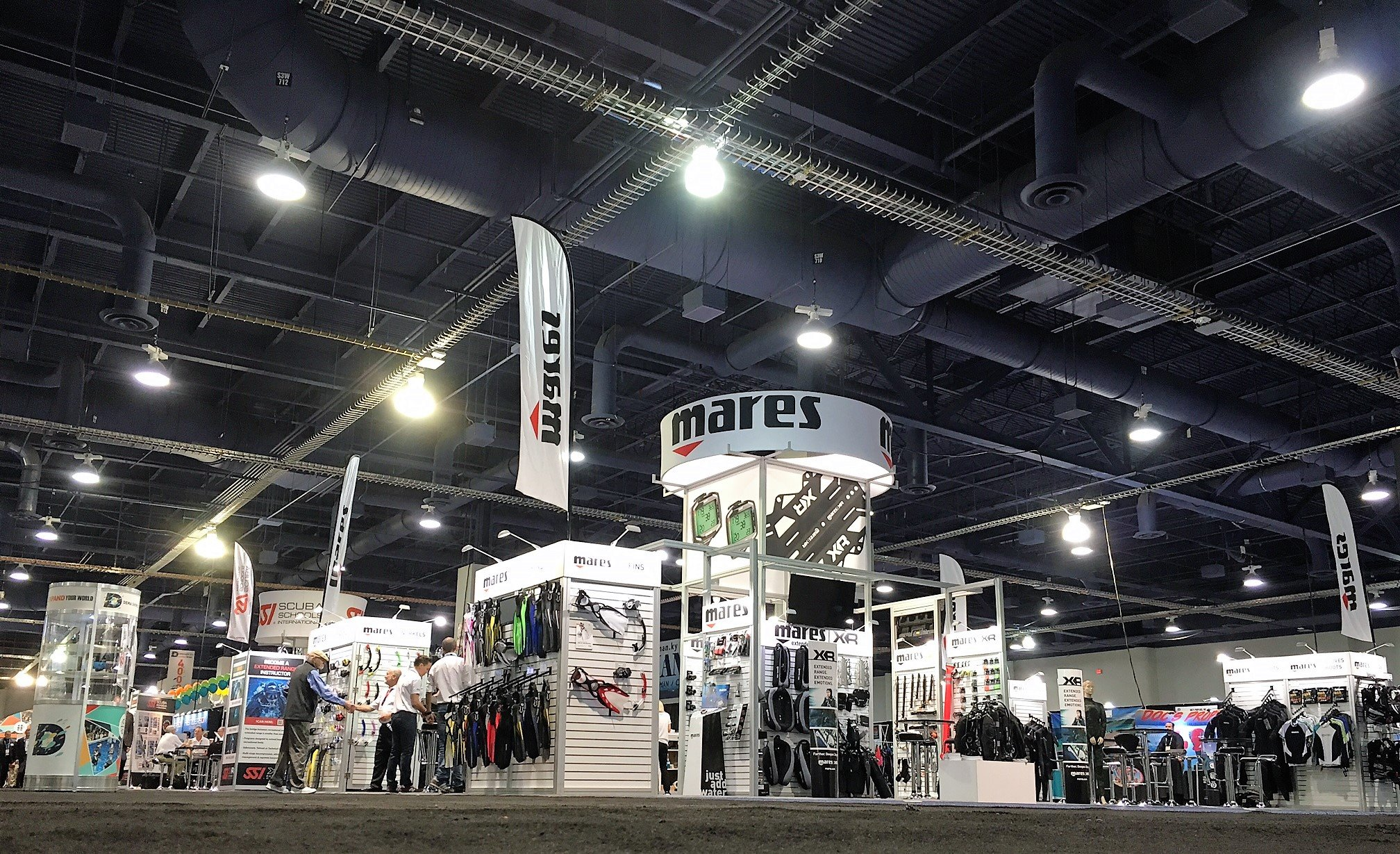 Mares Exhibit Booth